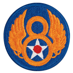 Shoulder patch for the Mighty Eighth Air Force